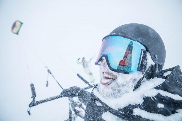 snowmonster snowkite pallas kiteweek